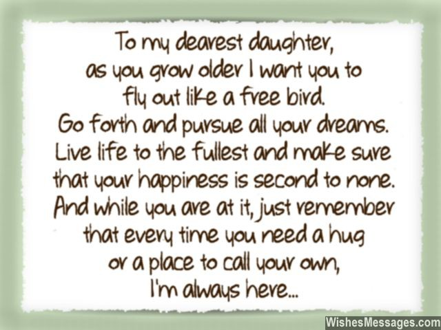 I Love You Messages For Daughter Quotes