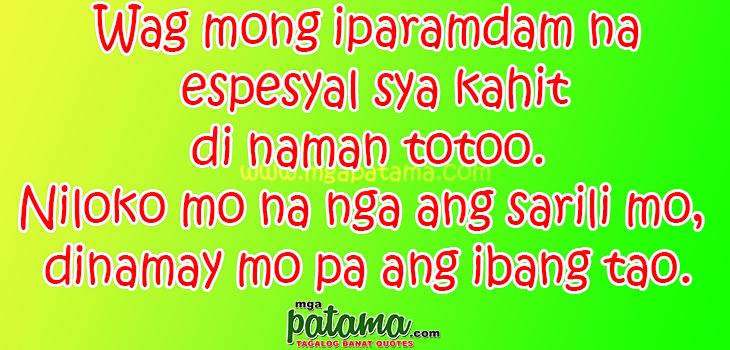 Tao Manloloko Love Quotes