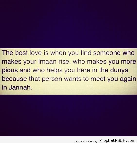 The Best Love Islamic Quotes About Love