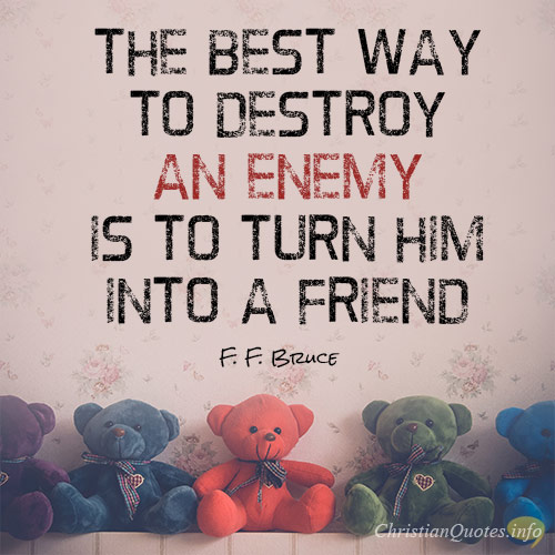 Best Bible Verses About Loving Your Enemies