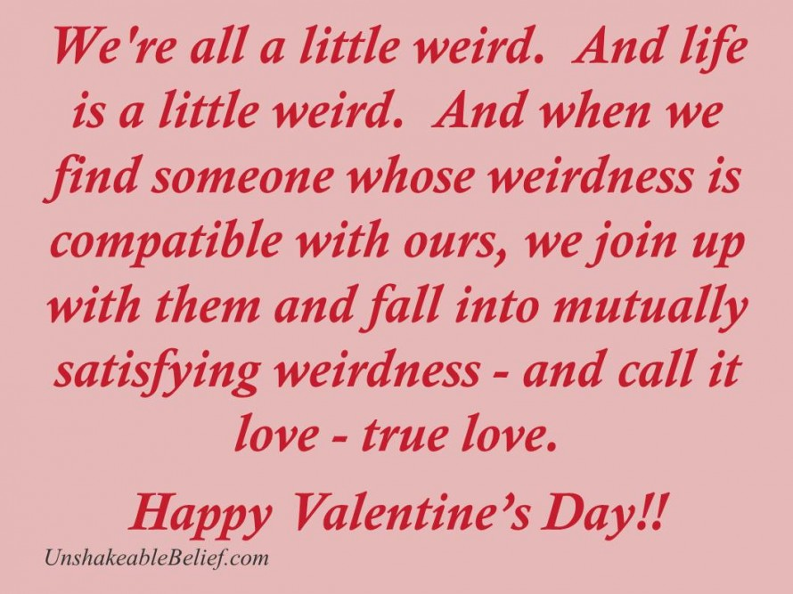Valentines Day Quotes About Love Funny Humor Dr Seuss