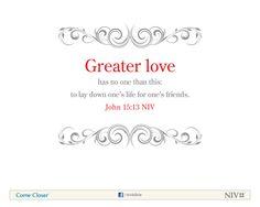 John  Niv Bible Verse About Love Nivbible Scripture