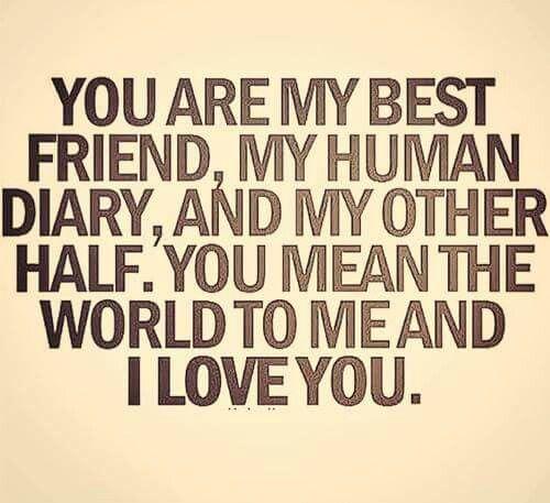 Love My Best Friend My Human Diary