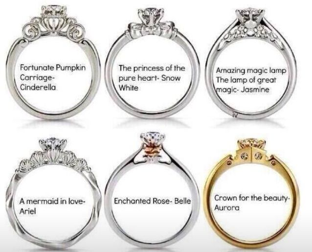 Disney Princess En Ement Rings I Hope I Am Lucky Enough To Find A Husband