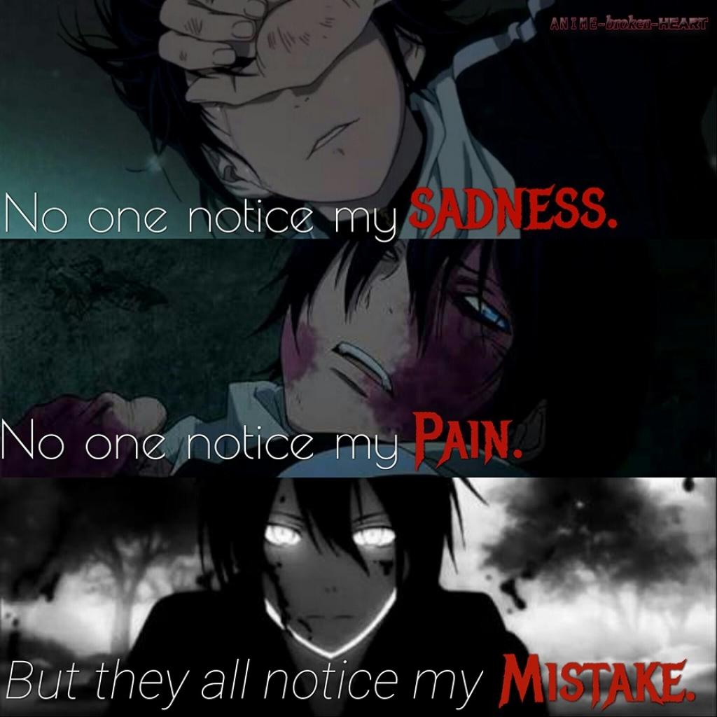 Anime Broken Heart Quotes Anime Love Breaks Hearts