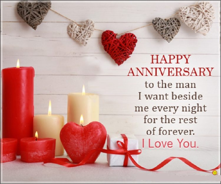 Anniversary Wishes For Husband Romantic
