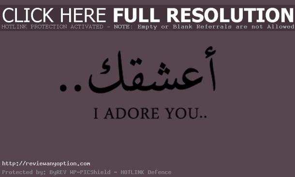 Arabic Love Quotes For Him Beauteous Adore Arabic Him Love Pink Image Rayman On Favim