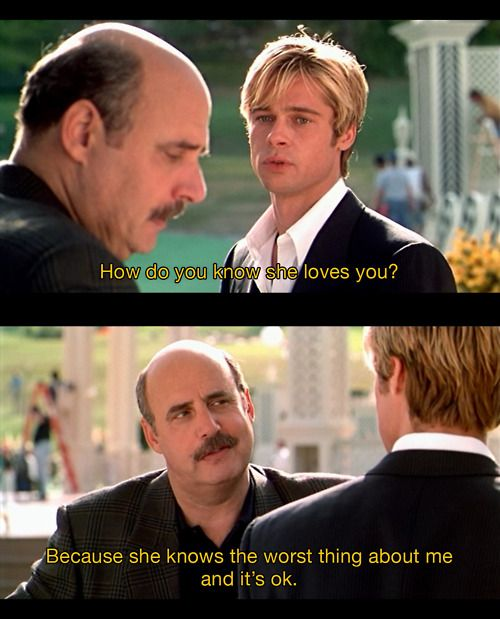 Best Tv And Movie Quotes P O Meet Joe Black