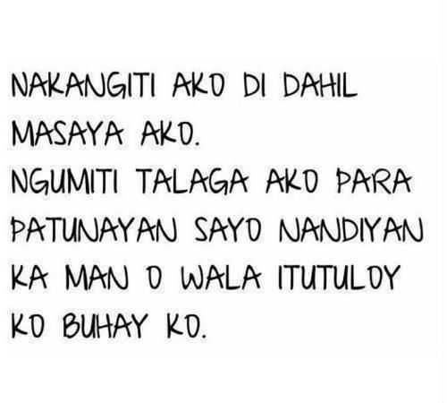 Nice Quotes Tagalog Tumblr Cute Quotes Pinterest Tagalog Tagalog Quotes And Hugot Quotes