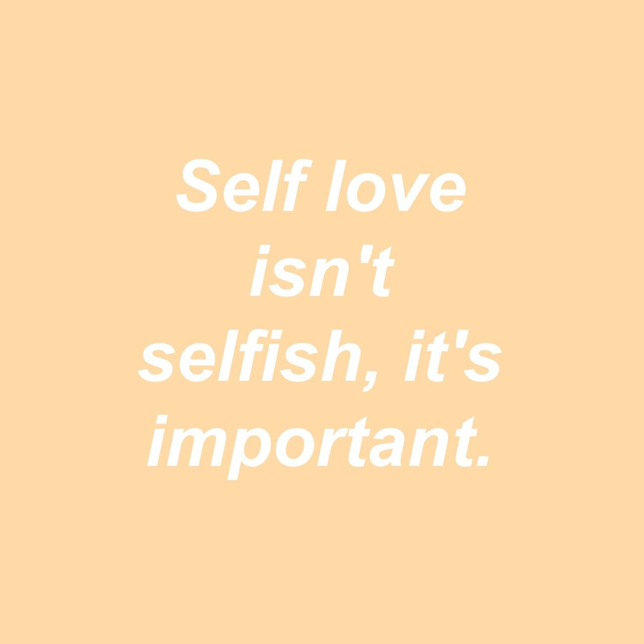 Girlboss Love Self Love Is Not Selfish Quotes Self Love Orange