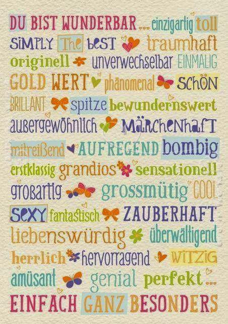 Eine Kleine Deutschkiste Positive Eigenschaften Beschreiben