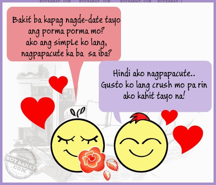 Banat Lines Ng Mag Boyfriend And Girlfriend