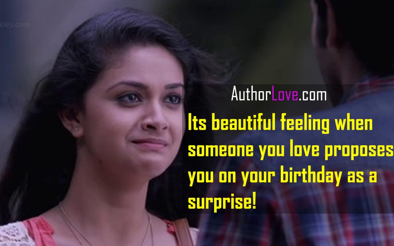 Its Beautiful Feeling When Someone You Love Movie Love Quotes