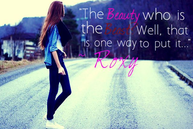 Beauty Girl Quotes Picture