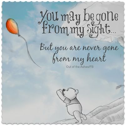 You Are Never Gone From My Heart Love Quotes Quotes Quote Winnie The Pooh Relationship Quotes