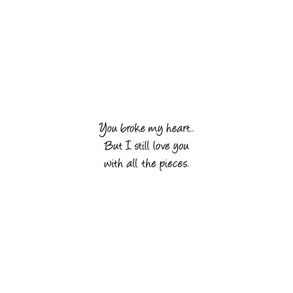 Heartbroken Quotes Emo Quotes Sad Love Quotes  E D A Liked On Polyvore
