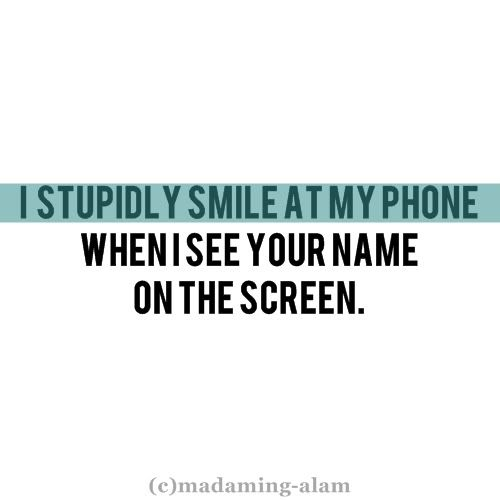 You Have No Idea I Always Get The Hugest Smile On My Face And You Have  C B Picture Quoteslove