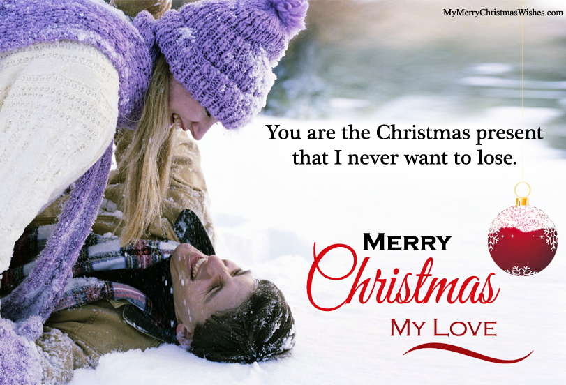 Christmas Love Quotes For Boyfriend With Image