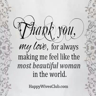 Thank You My Love Romantic Quotes For Husbandlove Messages