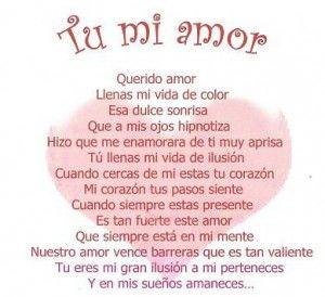 Love Spanish Love Poems Dear Love Spanish Poem