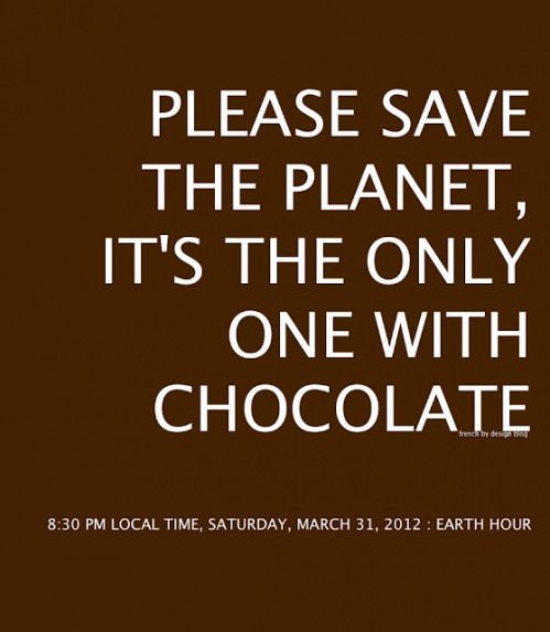 Its The Only One With Chocolate Chocolate Quoteslove