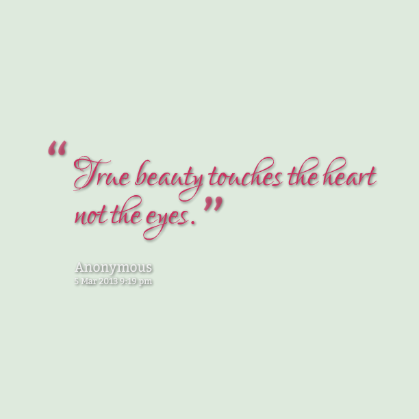 True Beauty Quotes Quotesgram