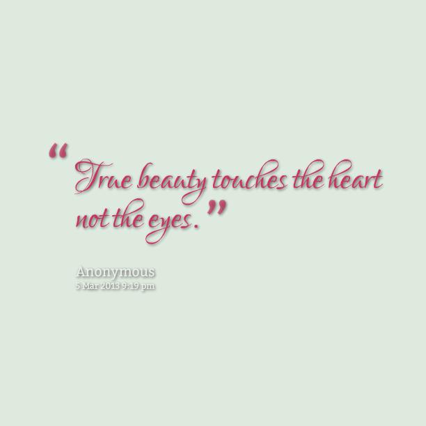 True Beauty Quotes Quotesgram