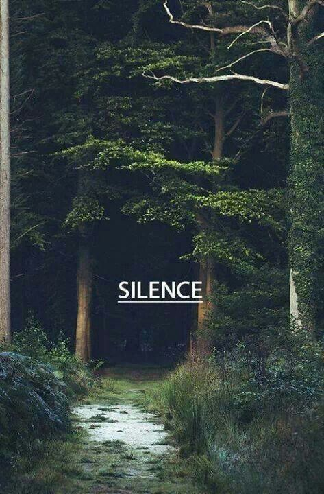 Quotes About Life There Is Magic In Silence Forest Lover Pinterest Nature Places And P Ography