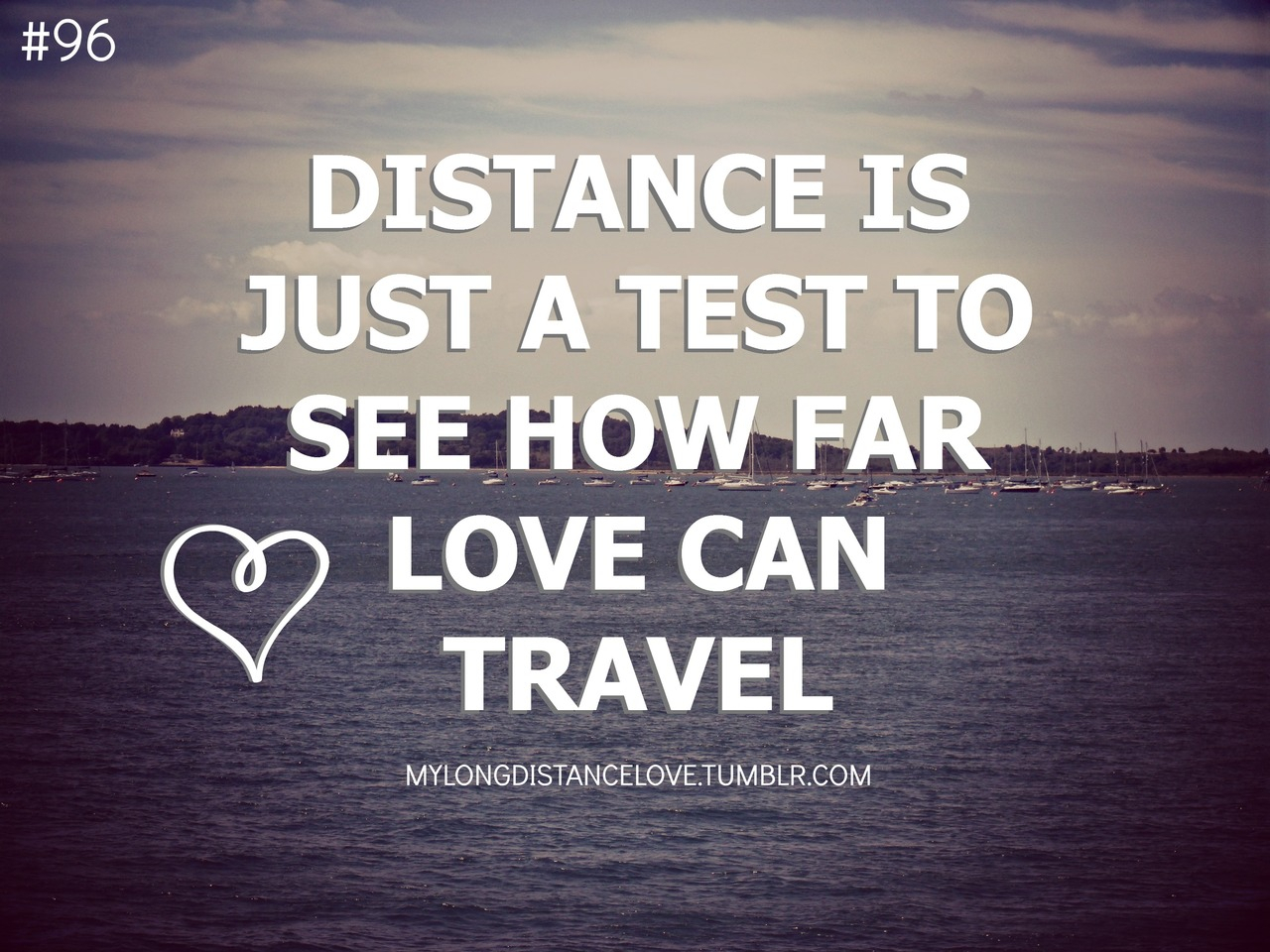 Distance Quote Love
