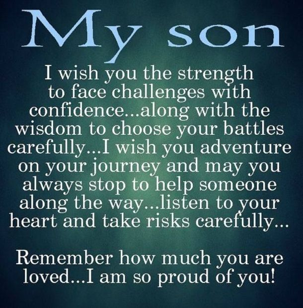 Best Mother And Son Quotes Mothers Love For Her