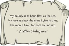 Famous Shakespeare Quotes About Love