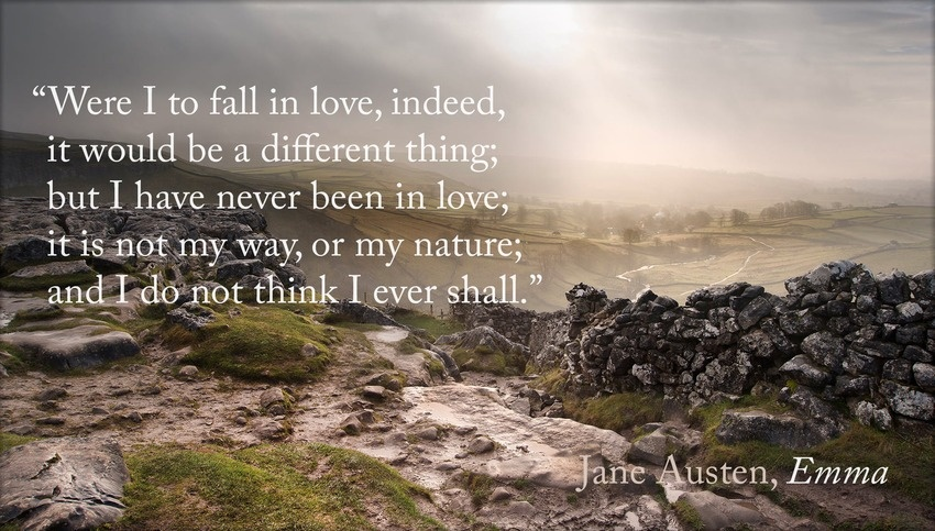 Emma Jane Austen Quote  Picture Quote
