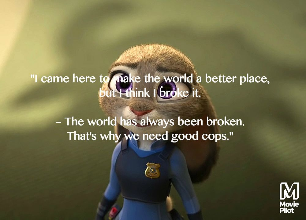 Best Inspirational Quotes From Zootopia