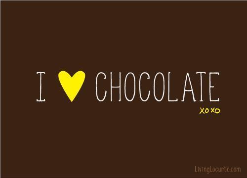 I Love Chocolate Mrscavanaughs Chocolate Quotes