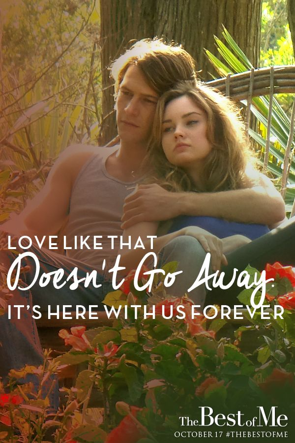 Dawson Knew That Amanda Wasnt Just Any Girl Witness The Magic Of Everlasting Love The Best Of Me In Theaters October
