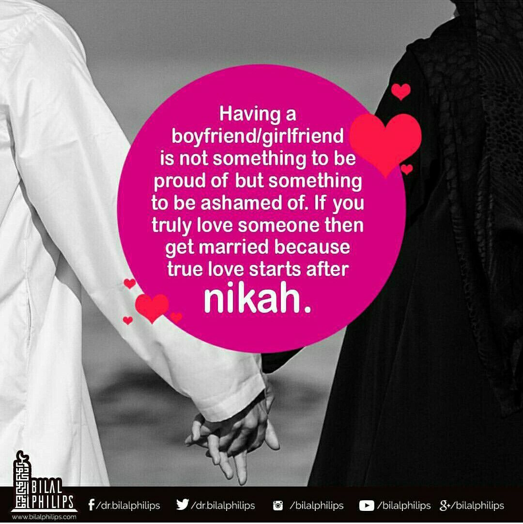 Get Married True Love Starts After Nikah  C B Islam Marriageislamic Quotesislamic