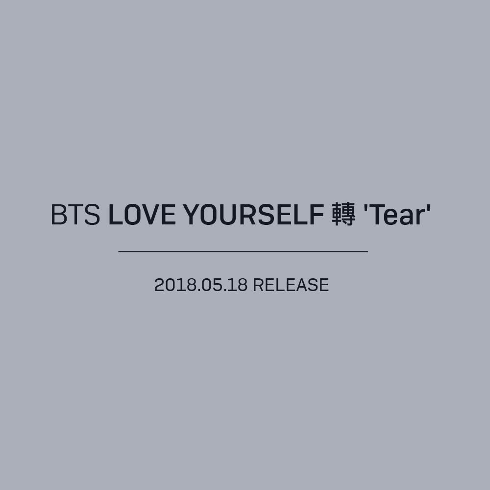 Bts Alvol  Love Yourself  E Bd  Tear Pre