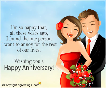 Funny Anniversary Cards And Quotes Love Means Commitment