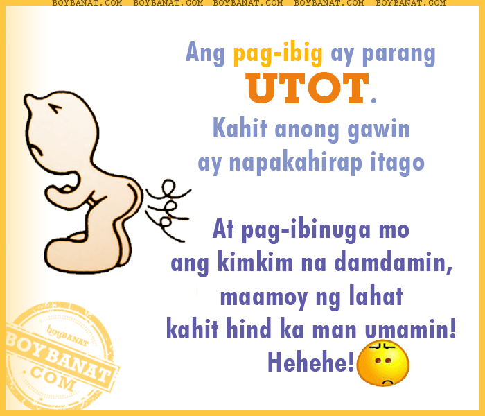 Tagalog Funny Love Quotes And Funny Love Sayings