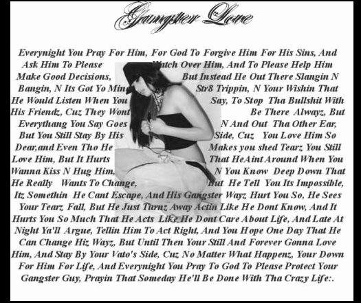 Gangster Quotes About Love Nice Love Quotes Gangster Love Quotes For Him Ghetto Love Poems