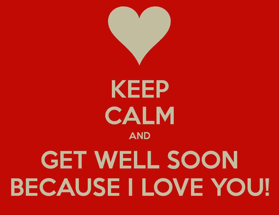 Get Well Soon When Someone Is Sick My Boyfriend