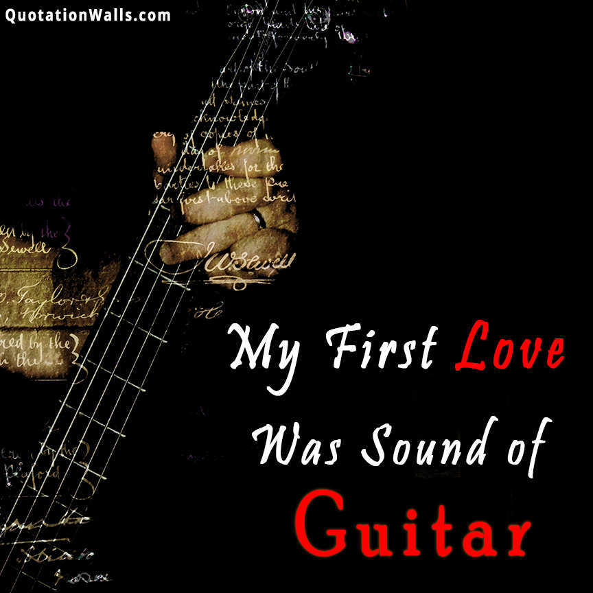 Guitar Love Whatsapp Dp