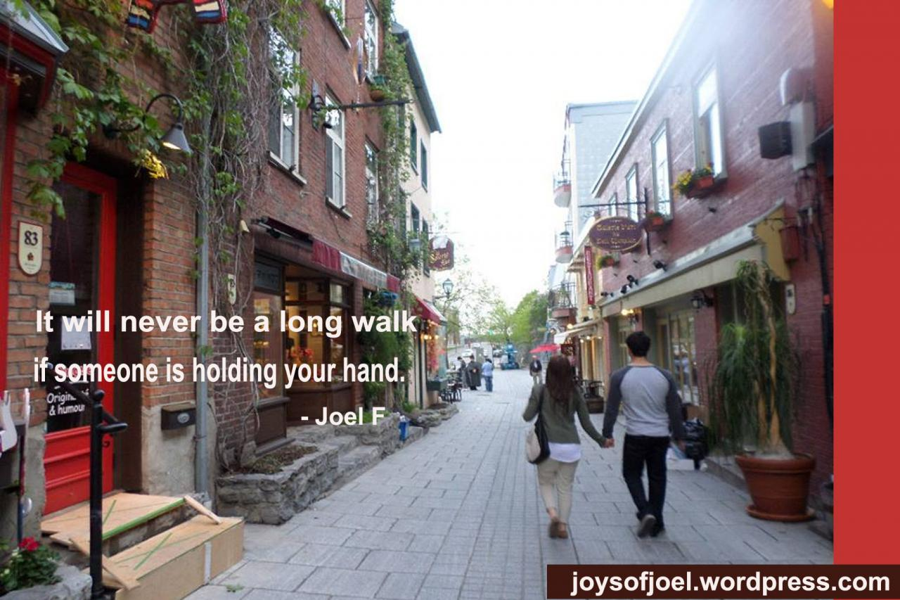 Hand In Hand Holding Hands While Walking P Ography Quote Love