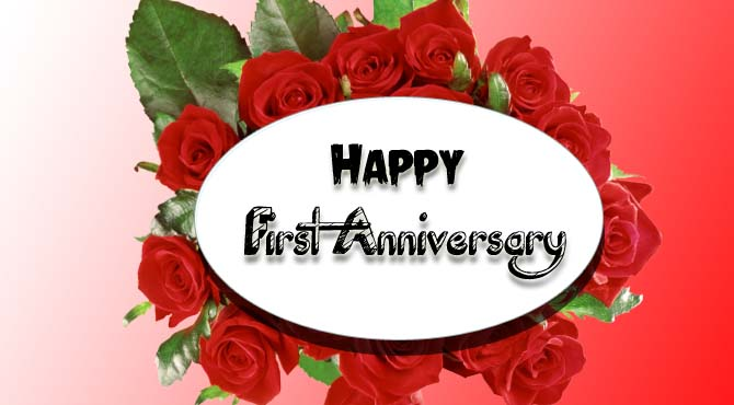 Happy First Anniversary Wishes To My Husband