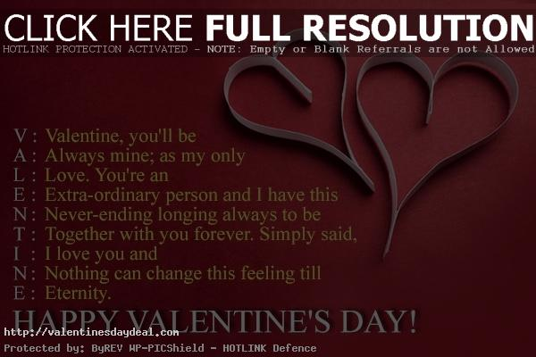 Happy Valentines Day Love Quotes For Her