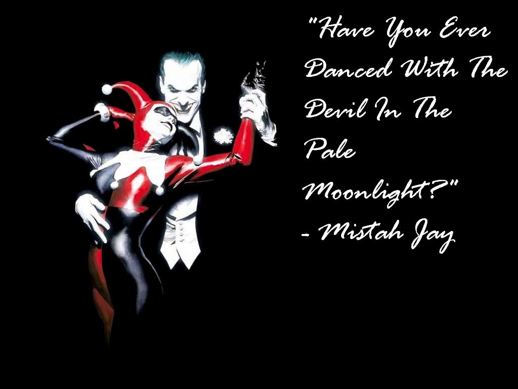 Harley Quinn And Joker Quote Harley Quinn Quotes Quotesgram