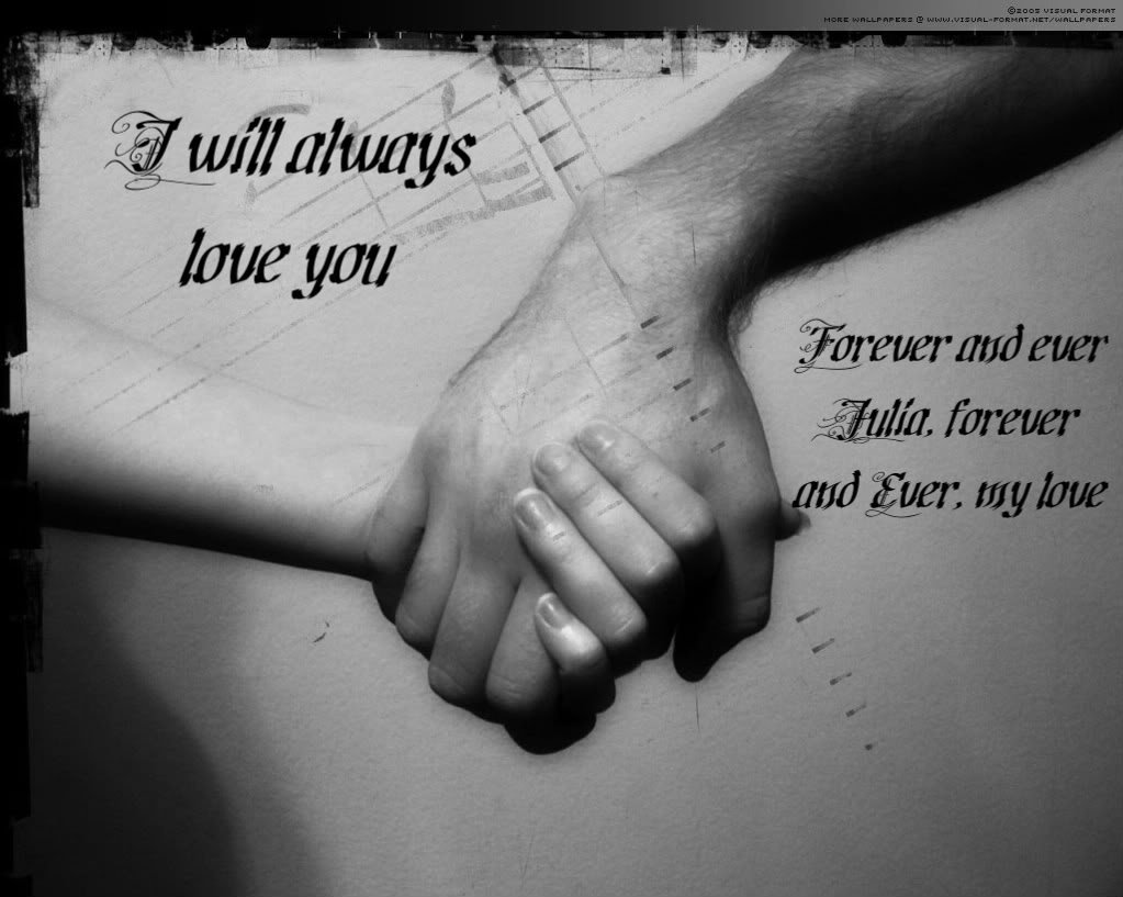Love Quotes Written On Hands Hover Me