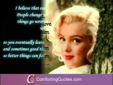 Marilyn Monroe Love Quotes Inspirational Quotes By Marilyn Monroe You