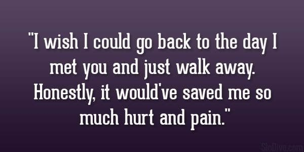 Hurting Love Quotes