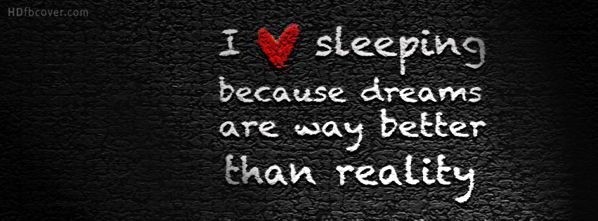 I Love Sleeping Quotesdream Quotes Cover